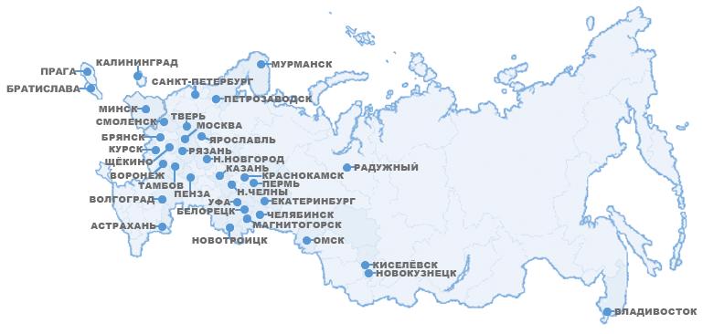 Карта МИЭП